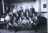Sioux Falls High School Orchestra. Photograph. ca. 1907-1908