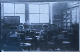 Typing class at Washington High School. Photograph. 1911